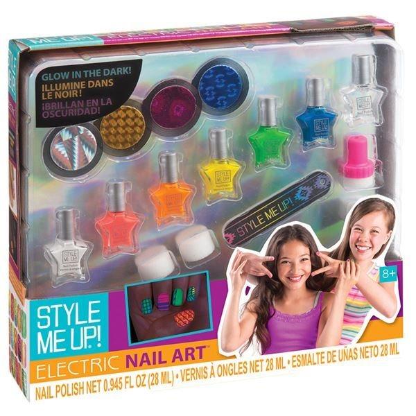 Style Me Up: Svítící nehty ve tmě set