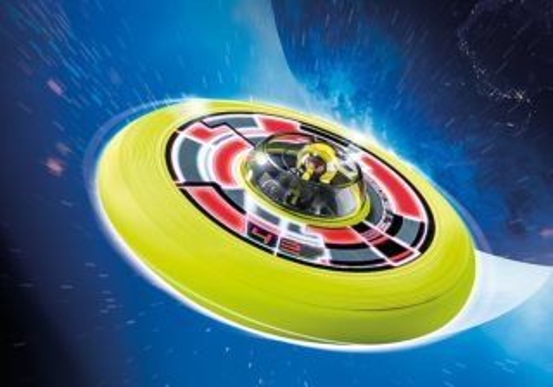 Super létající talíř s astronautem 6183