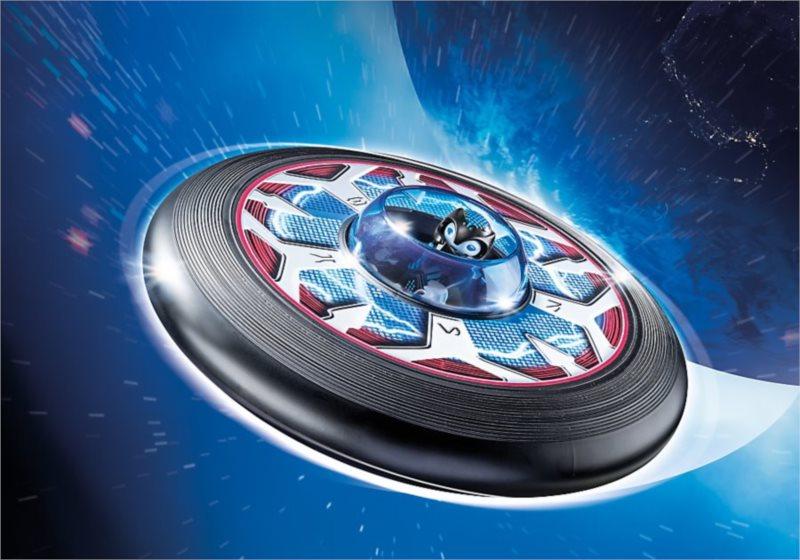 Super létající talíř s mimozemšťanem 6182