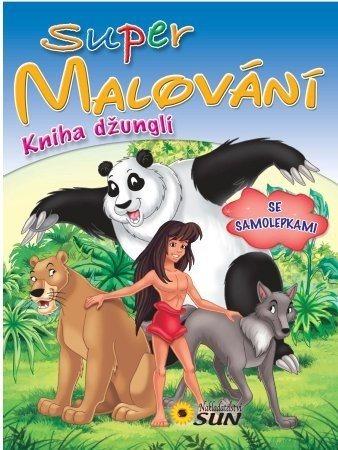Kniha: Super malování: Kniha džunglí, Nakladatelství SUN