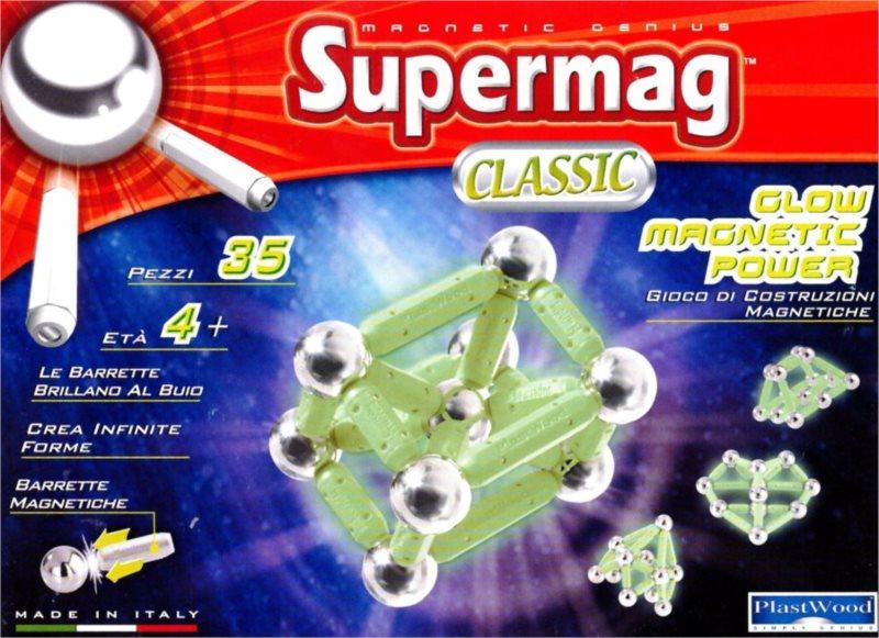 Supermag Classic Glow - 35 dílků