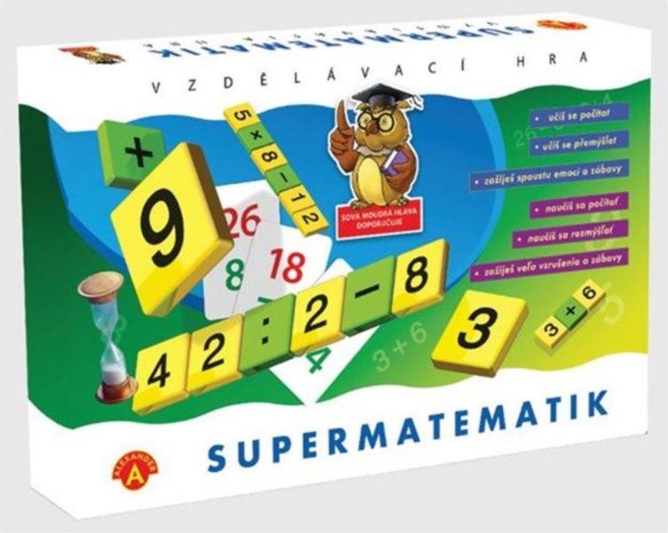 Dětská vzdělávací hra Supermatematik