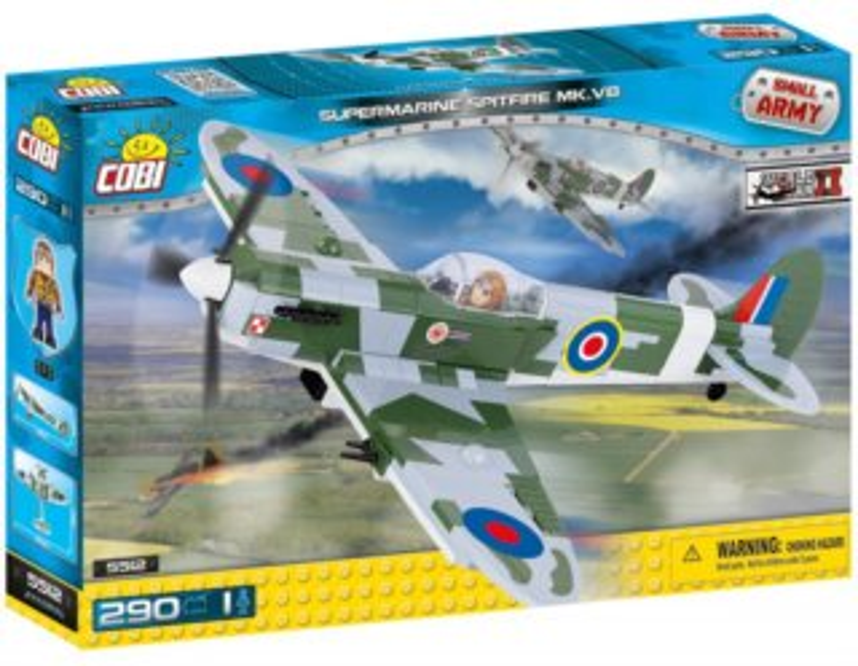 Stavebnice COBI Supermarine Spitfire MK.VB