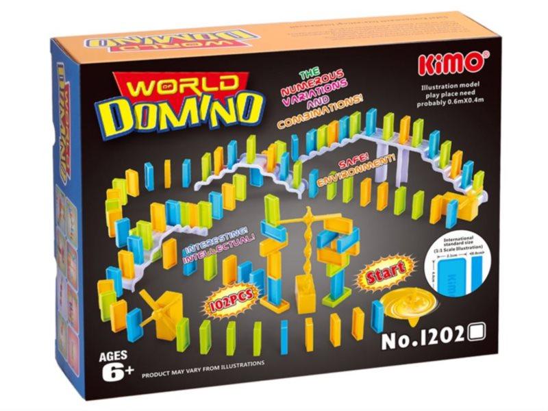Dětská hra Svět domina 102 dílků