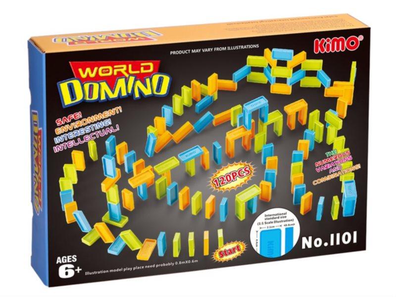 Dětská hra Svět domina 120 dílků