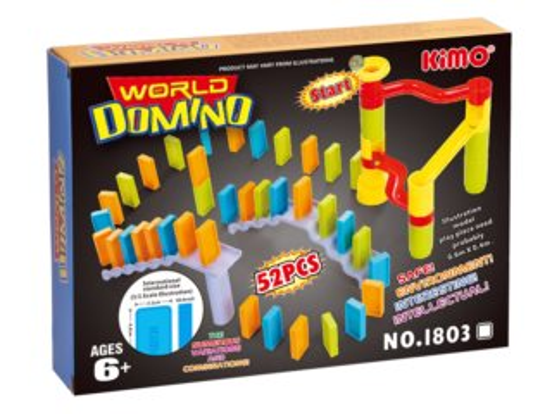 Dětská hra Svět domina 52 dílků