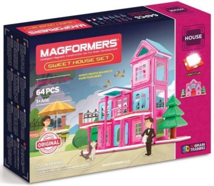 Magnetická stavebnice MAGFORMERS Sweet House Set