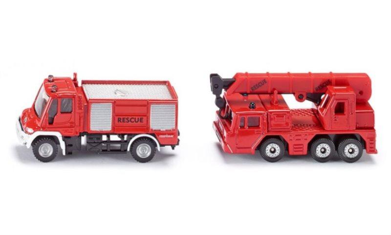 Set hasičských aut