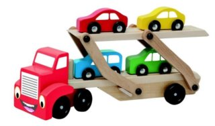 WOODY, Tahač s návěsem pro přepravu aut