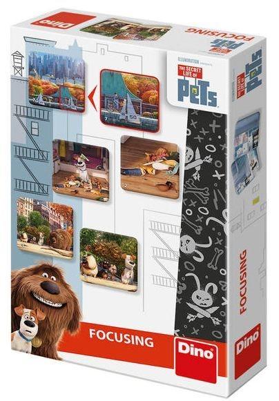 Rodinná hra Tajný život mazlíčků - Pexeso, DINO