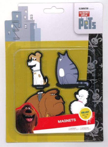 Tajný život mazlíčků: Sada magnetek A