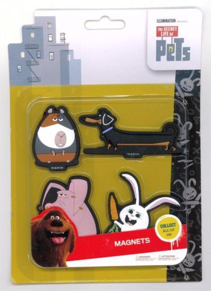 Tajný život mazlíčků: Sada magnetek C
