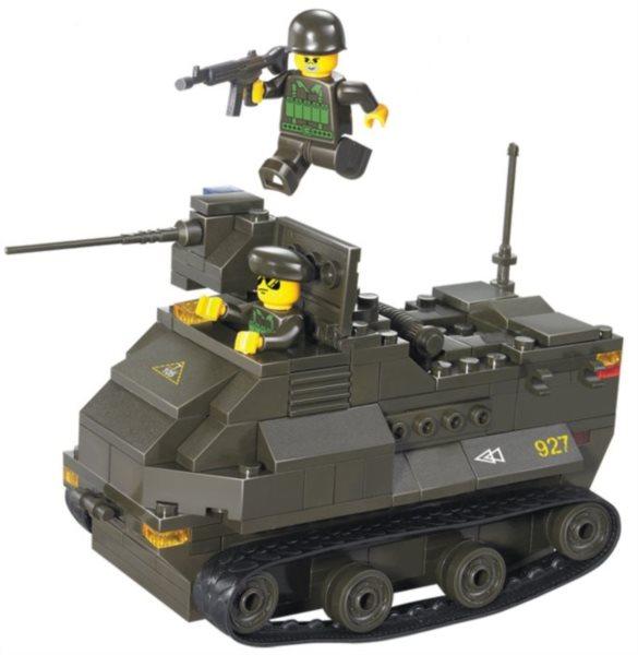 Stavebnice SLUBAN Tank AAV7A1