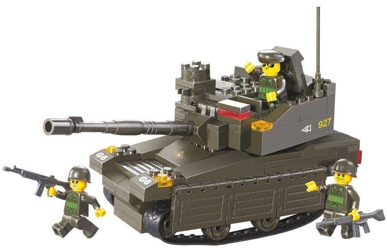 Stavebnice SLUBAN Tank Leopard 2A6M