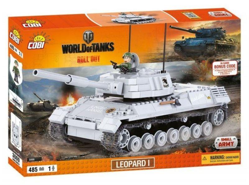 COBI Tank Leopard I - World of Tanks