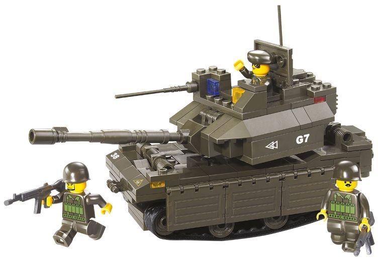 Stavebnice SLUBAN Tank M1A1 - Abrams