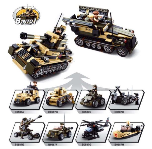 SLUBAN Tank nebo obrněný transportér 8v1