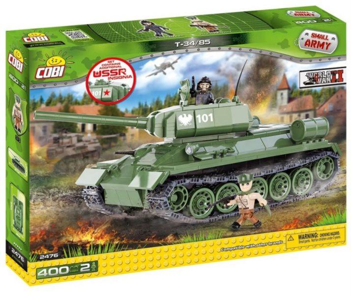 Stavebnice COBI Tank T-34,85