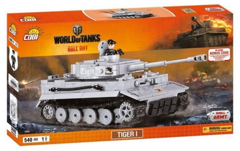 COBI Tank Tiger I - World of Tanks