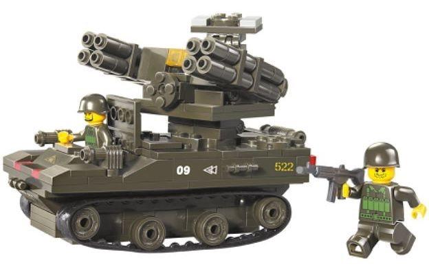 Stavebnice SLUBAN Tank TOR-M1
