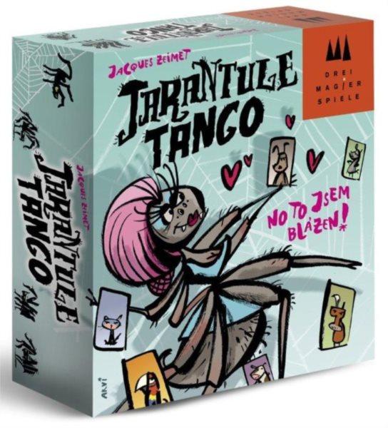 Zábavná rodinná karetní hra Tarantule Tango