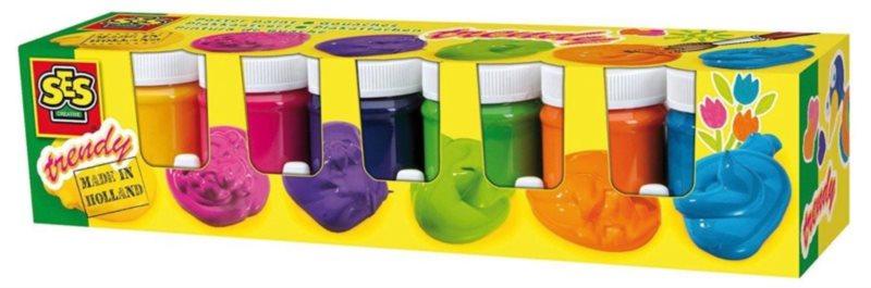 SES Temperové barvy Trendy 6 x 45 ml