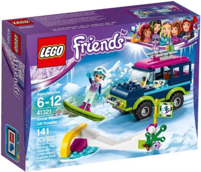 poškozený obal: LEGO® Friends 41321 Terénní vůz v zimním středisku