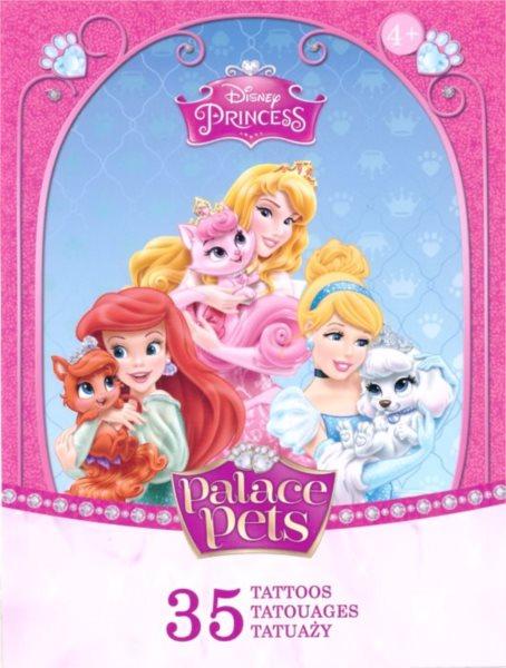 TREFL Tetování - Disney princezny a mazlíčci 35 ks