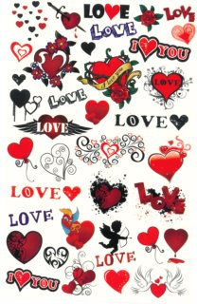 Tetování pro holky - Love