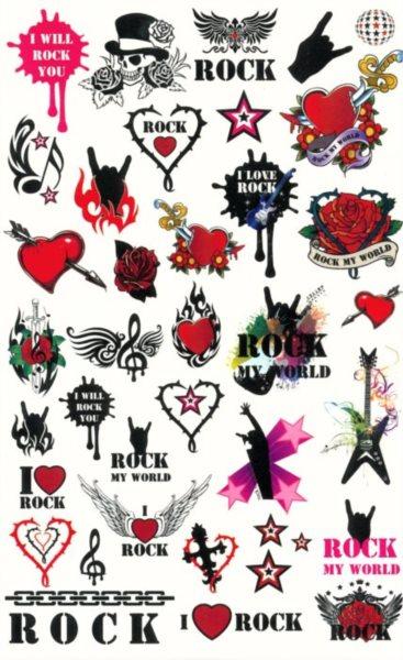 Tetování pro holky - Rock