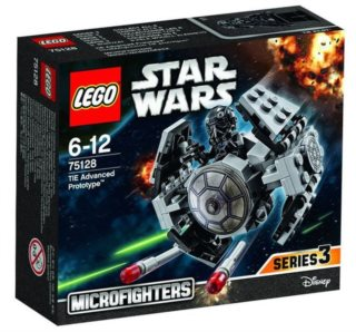 Stavebnice LEGO® Star Wars 75128 TIE Advanced Prototype (Prototyp TIE Advanced)