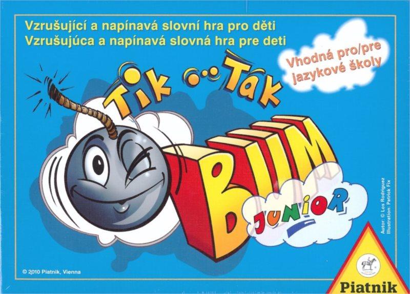 Karetní hra se slovy Tik Tak Bum Junior, PIATNIK