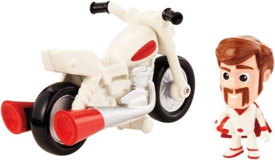 MATTEL Toy Story 4: Příběh hraček - Duke Caboom s motorkou