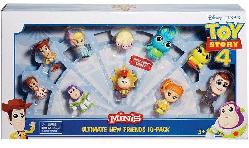 MATTEL Toy Story 4: Příběh hraček - Minifigurka 10 ks