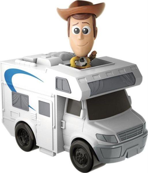 MATTEL Toy Story 4: Příběh hraček - Woody s vozidlem