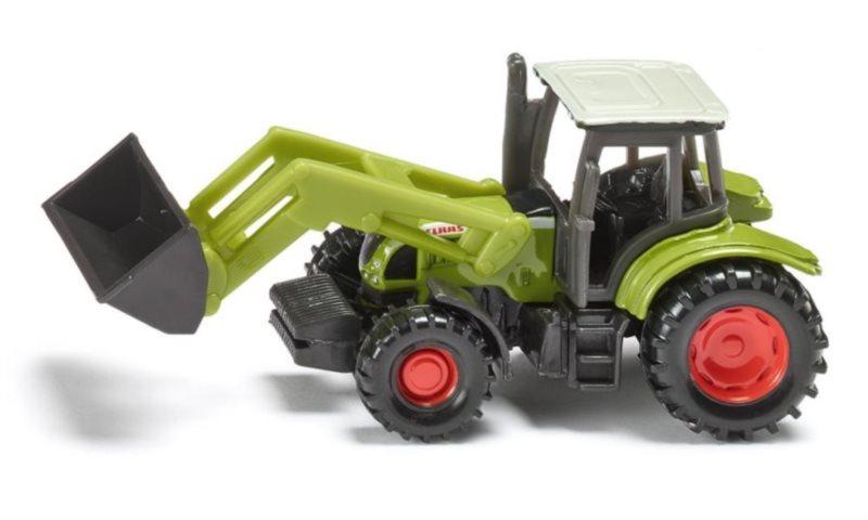 Traktor Claas Ares s čelním nakladačem