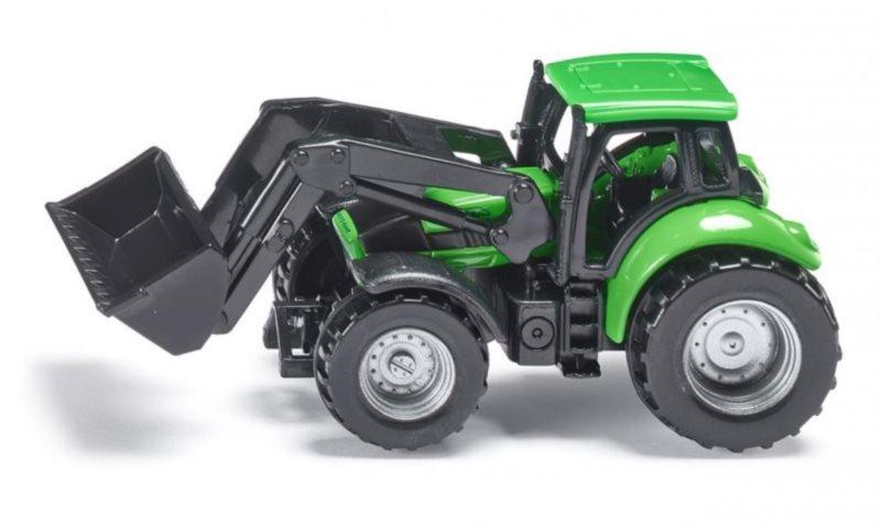 SIKU 1043 Traktor DEUTZ-FAHR s čelním nakladačem