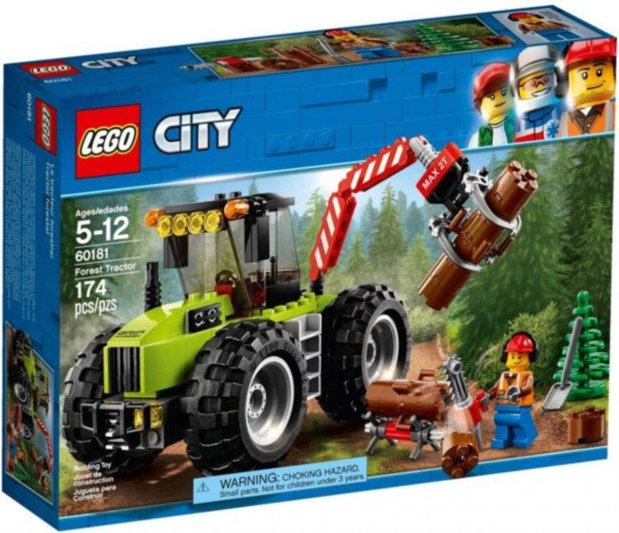 Stavebnice LEGO® City 60181 Traktor do lesa