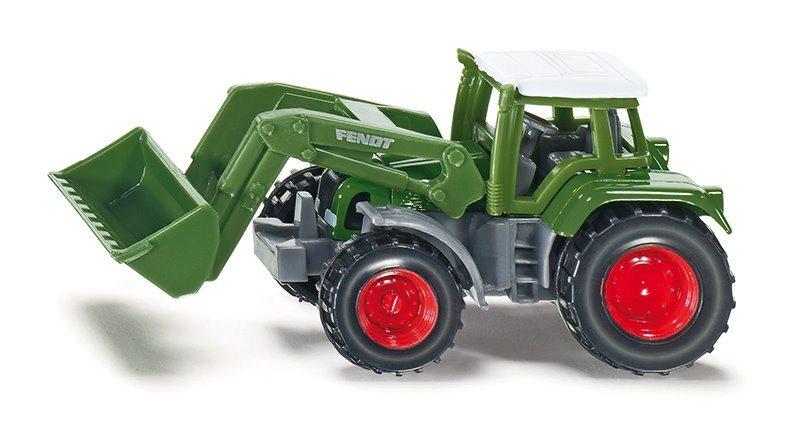 Traktor Fendt s čelním nakladačem