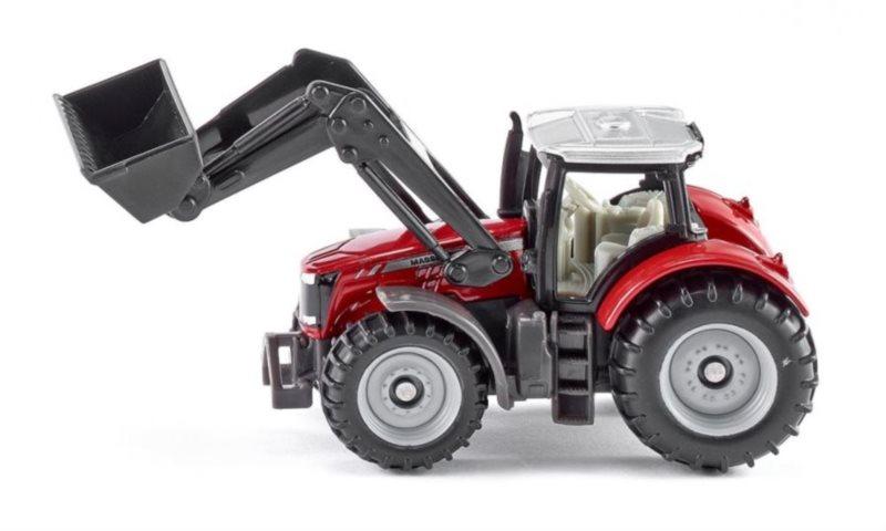 Traktor Massey Ferguson s čelním nakladačem
