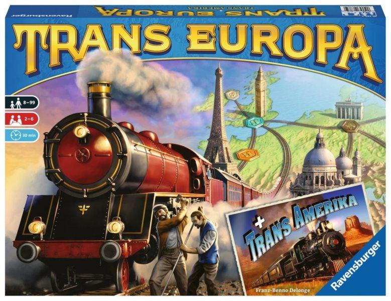 RAVENSBURGER Trans Europa + Trans Amerika