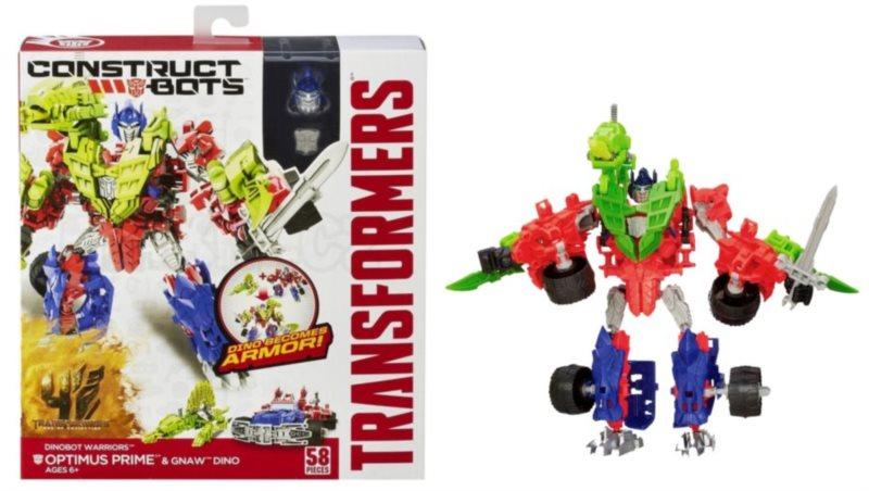 poškozený obal: HASBRO Transformers Dinobot Warriors: Optimus Prime a Gnaw Dino