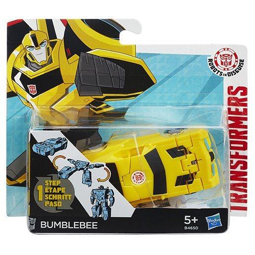 HASBRO Transformers v 1 kroku: Bumblebee