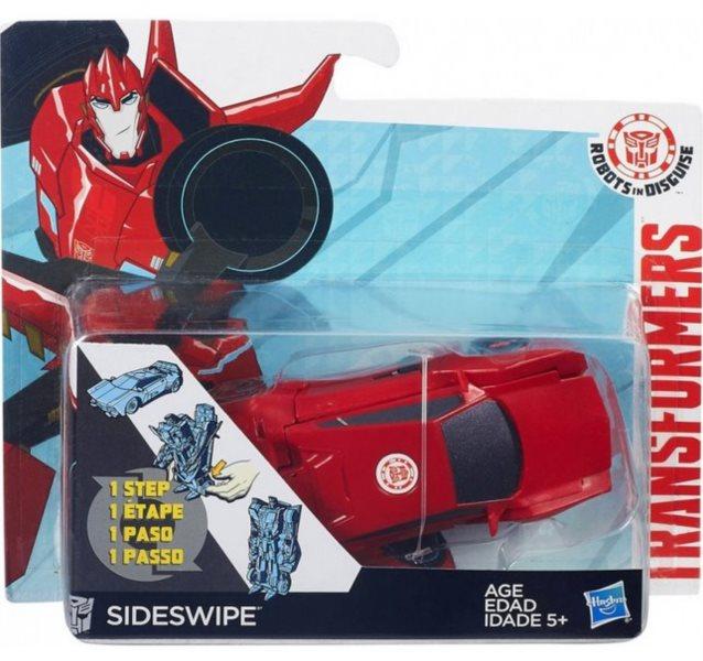HASBRO Transformers v 1 kroku: Sideswipe