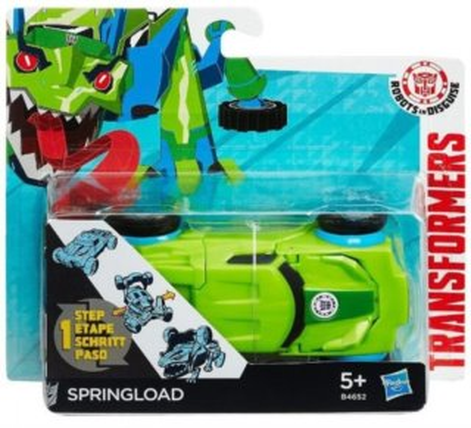 HASBRO Transformers v 1 kroku: Springload