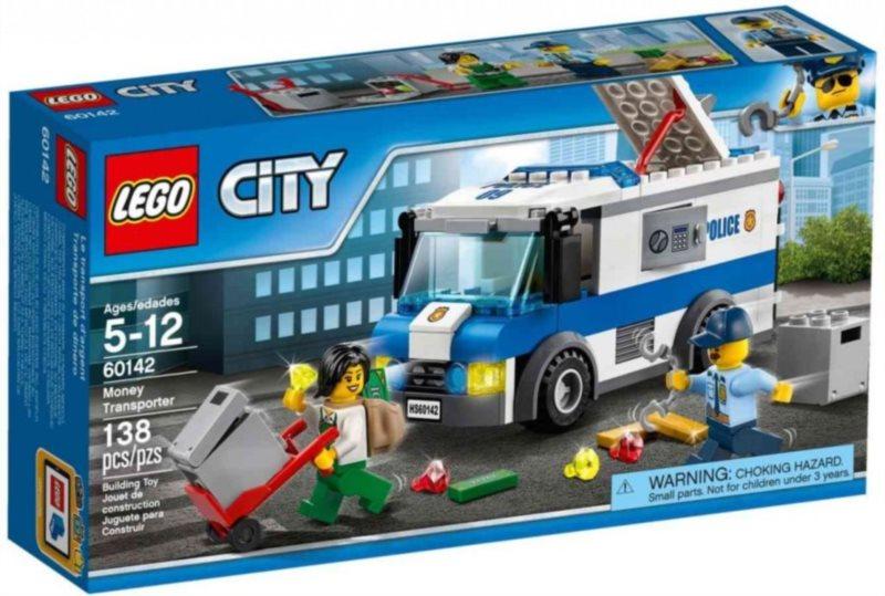 Stavebnice LEGO® 60142 Transportér na peníze