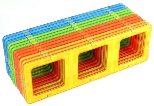 Magnetická stavebnice MAGFORMERS Trojité obdélníky 12 ks