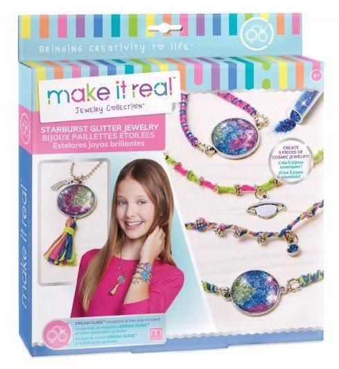 MAKE IT REAL Třpytivé náramky a náhrdelníky