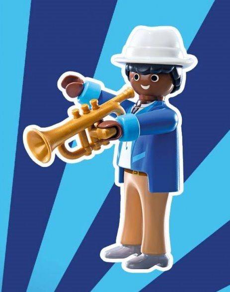 Playmobil 9241 Figurky pro kluky - Trumpetista (série 12)