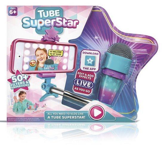 BLACKFIRE Tube Superstar - mikrofon se selfie tyčí